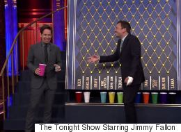 Paul Rudd Plays A Nasty Drinking Game With Jimmy Fallon