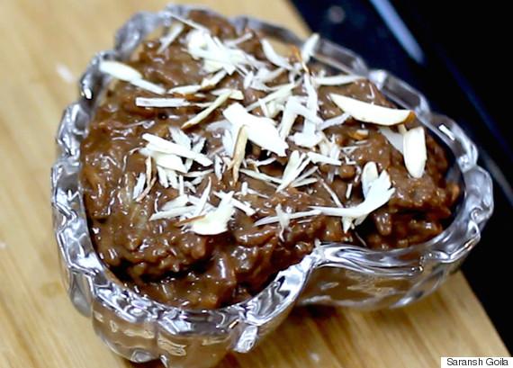 chocolate kheer
