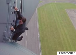 Looks Like Even Tom Cruise Gets Nervous After All...