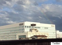 'Rainbow Road' Sprouts Over Nintendo Headquarters Following The Death Of Satoru Iwata