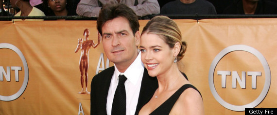 Charlie Sheen Denise Richards