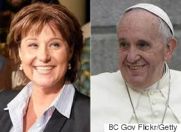 If The Pope Gets Climate Change, Why Can't B.C.?