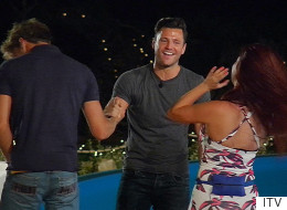 Mark Wright Plays Cupid As He Arrives On 'Love Island'