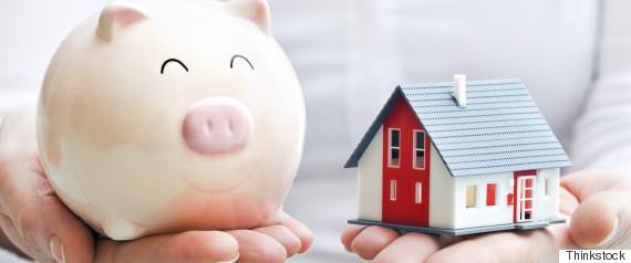 piggy bank house