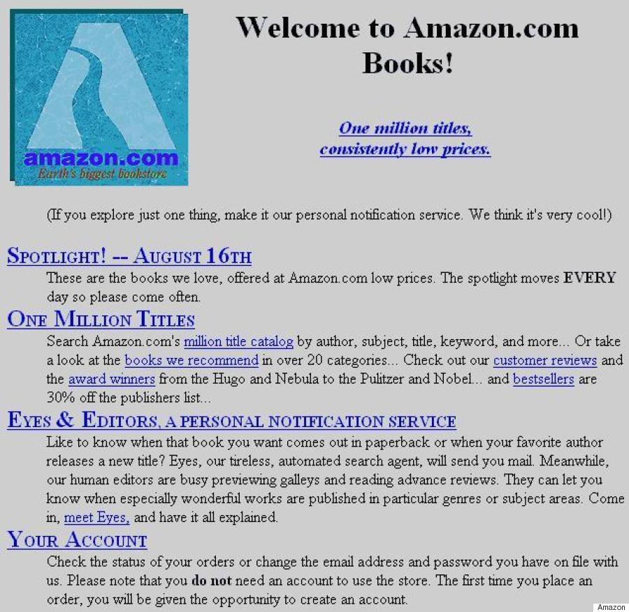 amazon 20 years ago