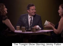Jimmy Fallon Plays 'True Confessions' With Amy Poehler And Tina Fey