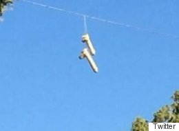 No One Knows Why Hundreds Of Sex Toys Are Dangling From Power Lines In Oregon