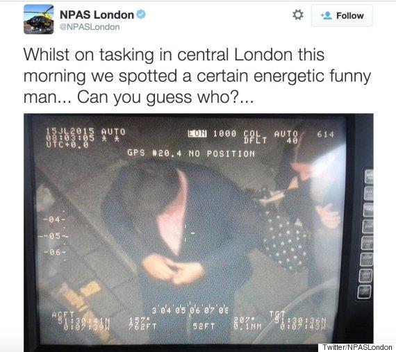npas london tweet