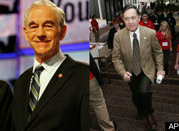 Dennis Kucinich And Ron Paul