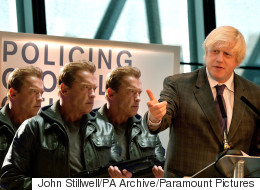 Boris Johnson Reverts To Riot Control Plan B After His Water Cannon Are Scuppered