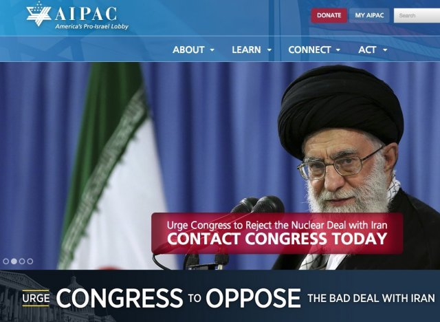 aipac iran deal congress
