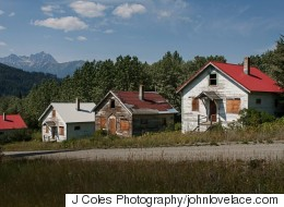 B.C. Ghost Town Is Back On The Market