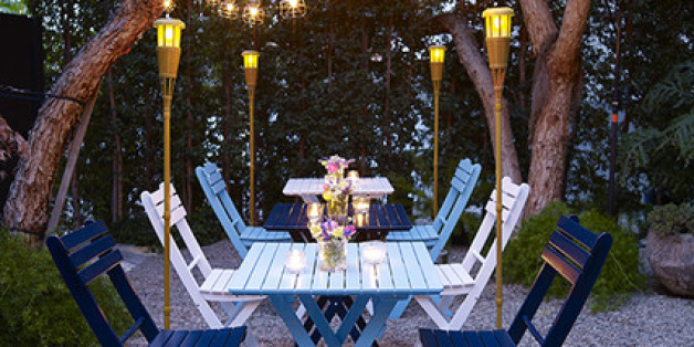 Huffpost home 3 easy outdoor lighting ideas