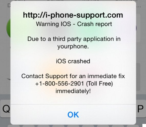iphone virus message apple iphone fix helps protect against scam 12438