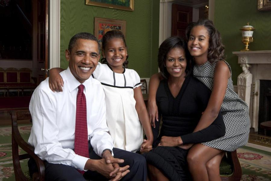 famiglia obama