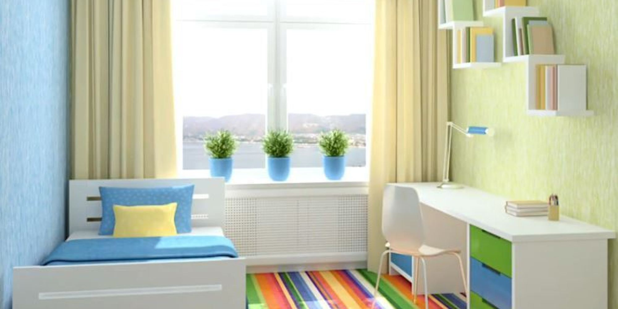 Kids Bedroom Colour Kids Rooms 5 Worst Colour Schemes For Your Childs Bedroom
