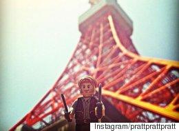 Chris Pratt Is Taking His Lego Likeness On A 'Jurassic World' Tour