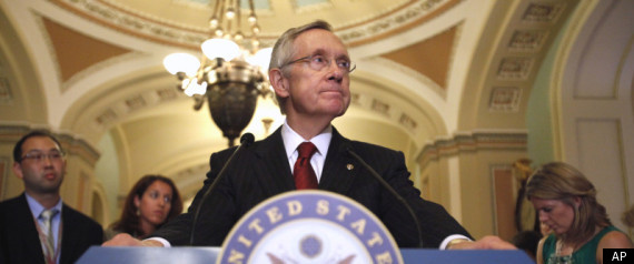 HARRY REID SENATE DEBT CEILING VOTE