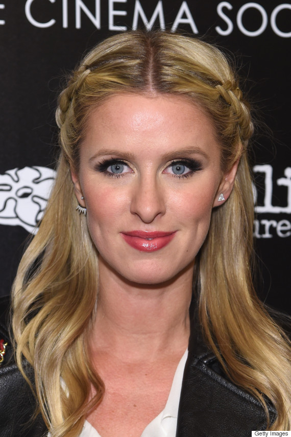 nicky hilton braid
