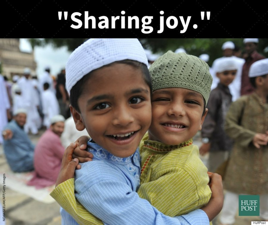 eid sharing joy