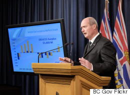 We Shouldn't Be Celebrating The B.C. Liberal Government's $1.7-Billion Surplus
