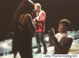 Jesy And Jake Get Engaged (With A Little Help From Ed Sheeran)
