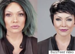Watch This Makeup Artist Transform Into 4 Kardashians In Under 2 Minutes