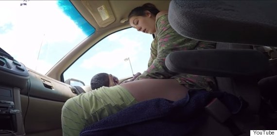 birth in car