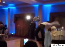 Backflipping Groomsman Shows Why Should Never Show Off On The Dancefloor At A Wedding