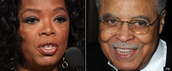 OPRAH WINFREY JAMES EARL JONES