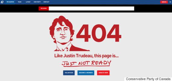 404 justin trudeau