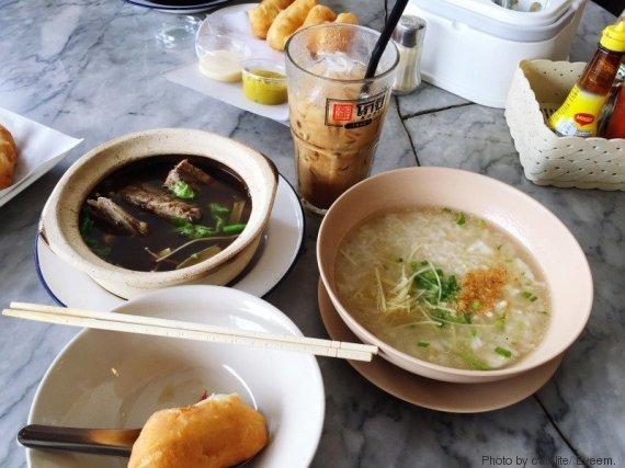 colazione thailandia
