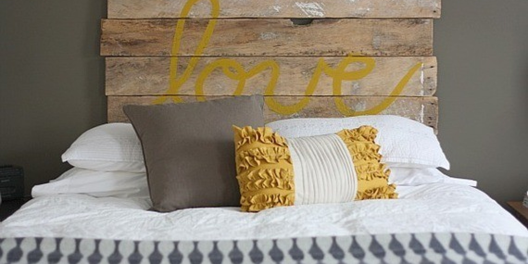 Upgrade Your Bed With These 6 Diy Headboards Huffpost