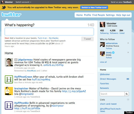 Hello, 'New Twitter': Old Twitter Is Going Away For Good