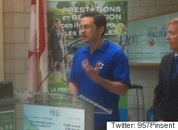 Poilievre Wears Conservative Party Shirt While On Government Business