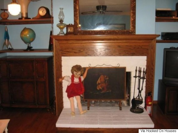 house for sale with doll