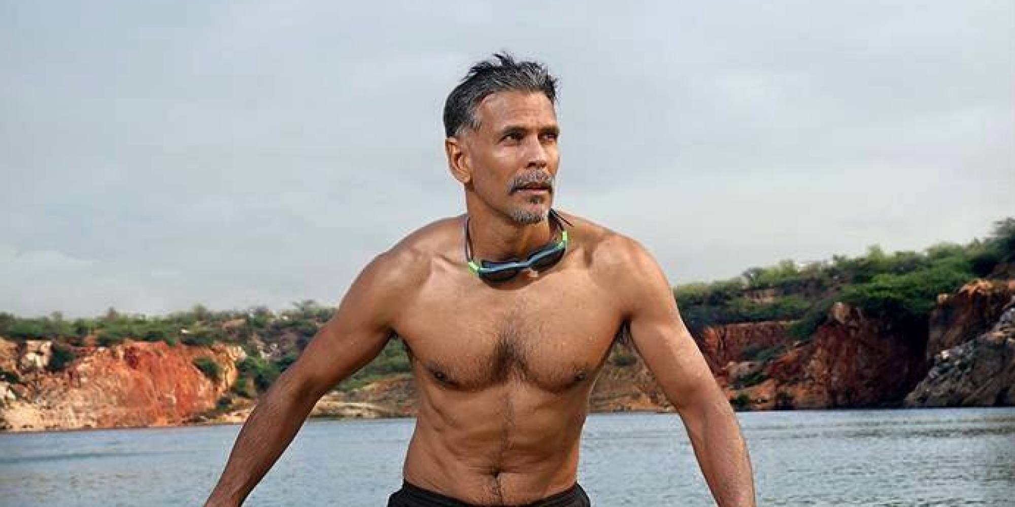 Photos 50 Year Old Milind Soman Completes The Tough