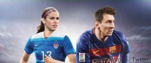 FIFA 16 ALEX MORGAN