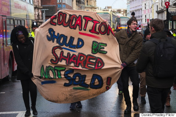 free education protest