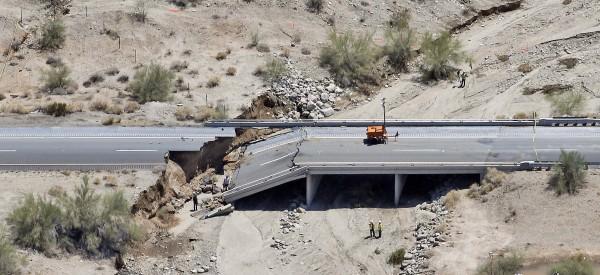 california bridge interstate collapse