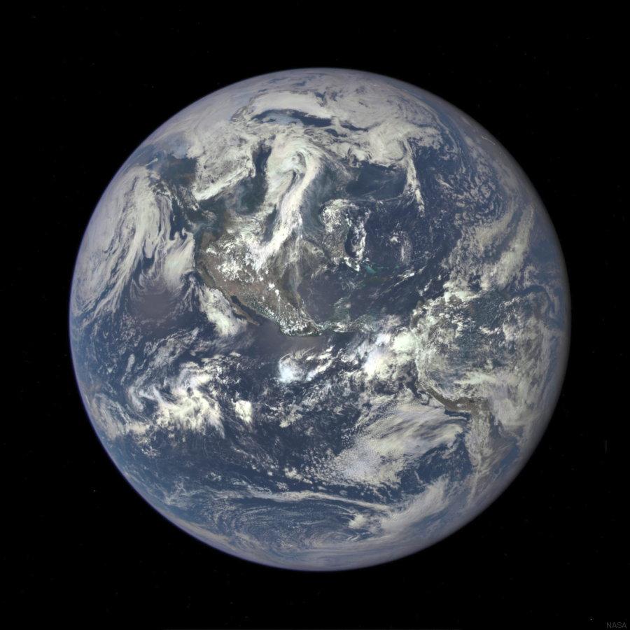segunda foto de la tierra