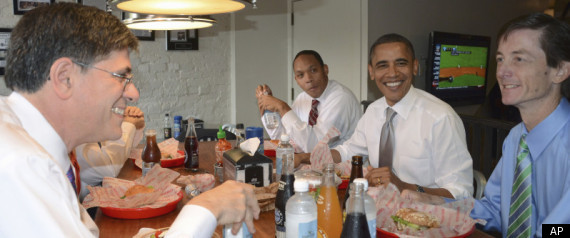 OBAMA BURGERS GOOD STUFF EATERY DEBT CEILING