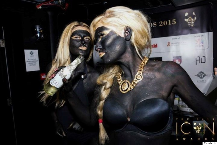 icon awards blackface