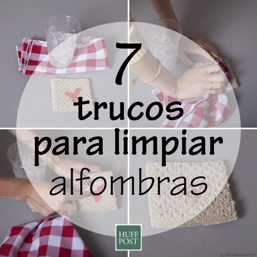 C mo limpiar alfombras siete trucos que funcionan o no - Alfombras que se pueden fregar ...