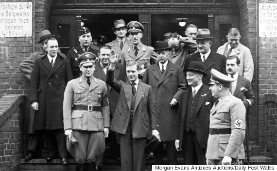 Image result for duke of windsor meets hitler