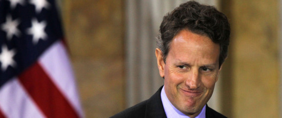 Geithner One Year Ago
