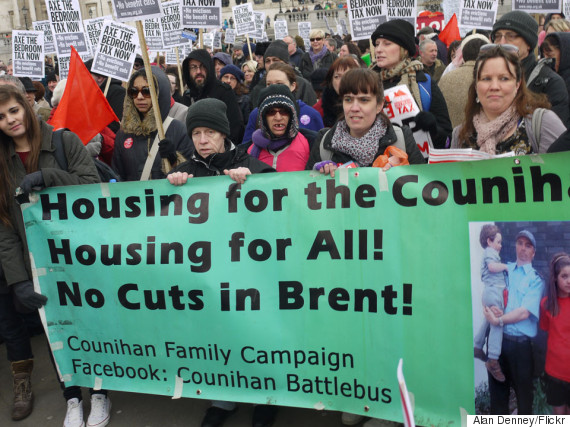 houses protest uk