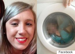 Outrage As Down's Syndrome Toddler Is Photographed In Washing Machine 'For A Laugh'