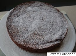 Cooking Off The Cuff: A Flourless Chocolate-Almond Cake From Naples Via London