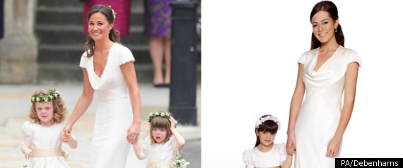 PIPPA MIDDLETON BRIDESMAID DRESS COPY AVAILABLE TO